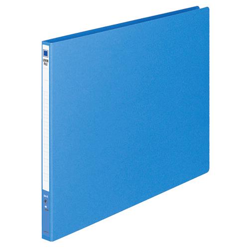 【お取寄せ品】 コクヨ レバーファイル(MZ) B4ヨコ 100枚収容 背幅20mm 青 フ-309NB 1セット(30冊) 【送料無料】