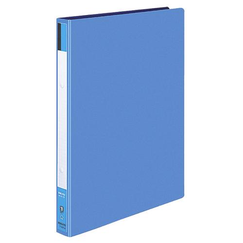 コクヨ リングファイル 色厚板紙表紙 A4タテ 2穴 170枚収容 背幅30mm 青 フ-420B 1セット(40冊) 【送料無料】