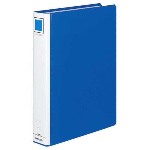 【お取寄せ品】 コクヨ Kファイル 片開き A4タテ 400枚収容 40mmとじ 背幅55mm 青 フ-E840B 1セット(16冊) 【送料無料】