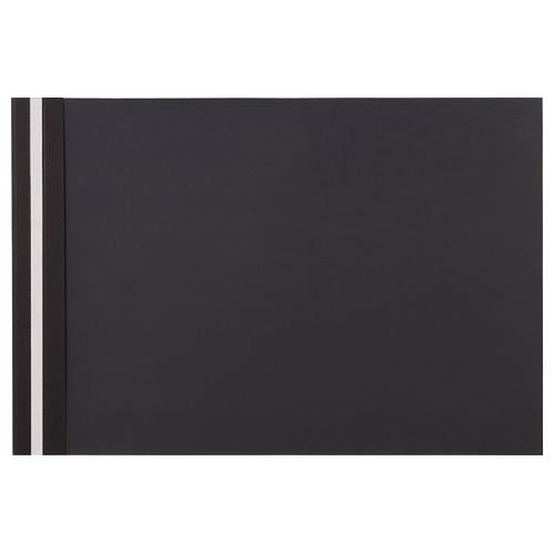【お取寄せ品】 TANOSEE プレゼンテーションファイル スタンダード A3ヨコ 50枚収容 ブラック 1セット(100冊:5冊×20パック) 【送料無料】