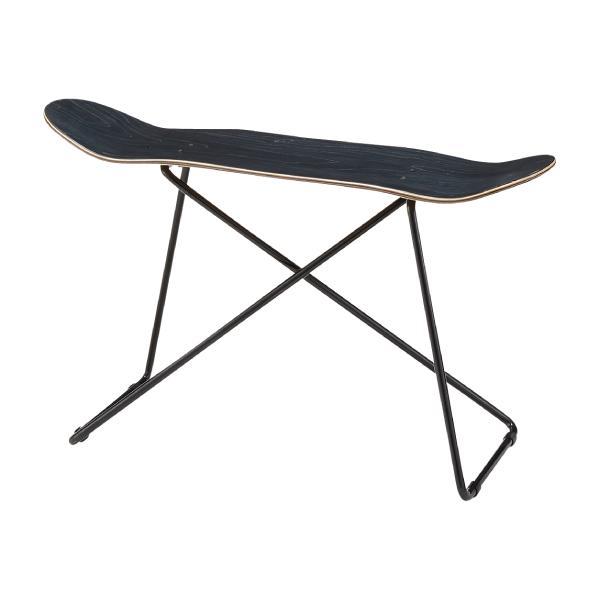 スケートボード サイドテーブル ブラック コーヒーテーブル ブルックリン調 ストリート サーフ[送料無料][AC-0001]pachakagu