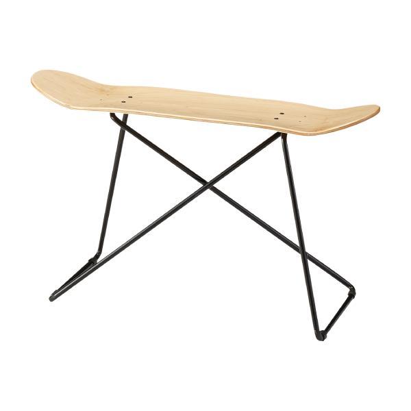 スケートボード サイドテーブル ナチュラル コーヒーテーブル ブルックリン調 ストリート サーフ[送料無料][AC-0001]pachakagu