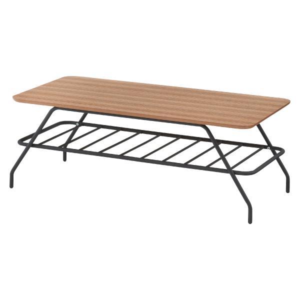 ゼブラウッド スチールフレーム コーヒーテーブル シンプルモダン ブルックリン調 天然木 机[送料無料][AT-0001]pachakagu