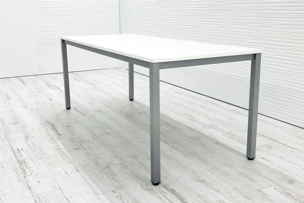 平机 中古テーブル 中古 G-Style ホワイト 1800×750×700 ミーティングテーブル W1800 中古オフィス家具