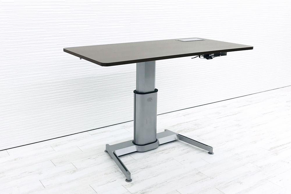 スチールケース エアタッチ 昇降テーブル Airtouch W1600×D800×H660~1092 中古デスク 手動上下昇降机 中古オフィス家具