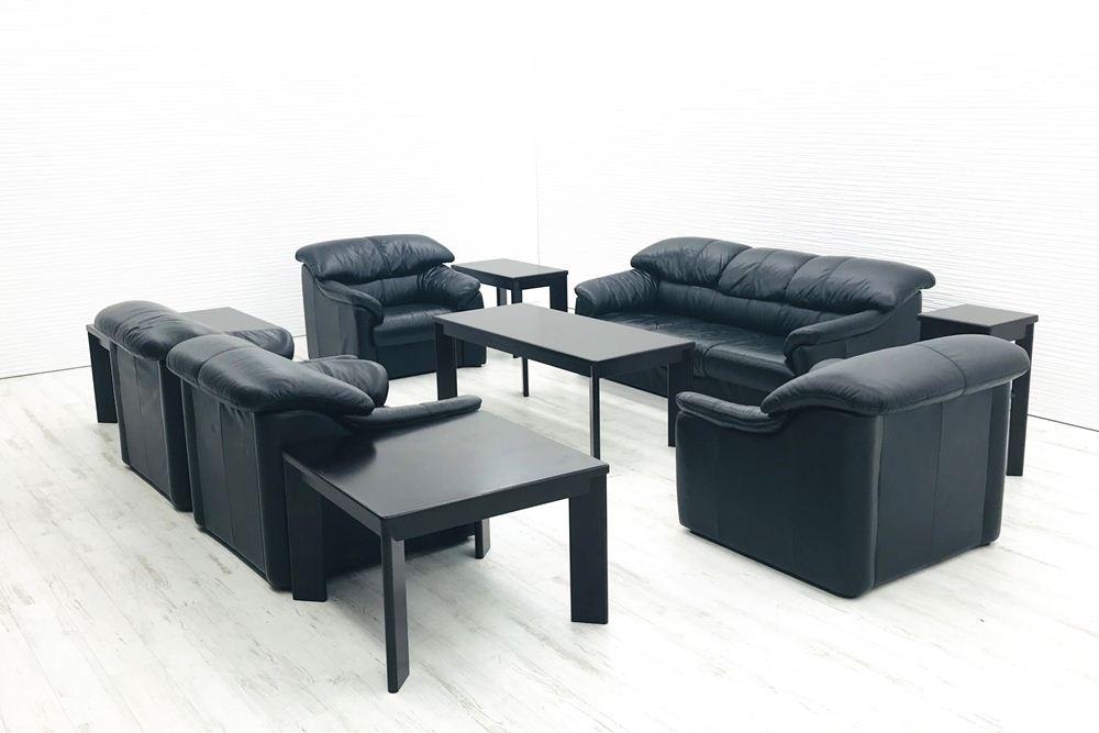 オカムラ 応接セット 応接家具 10点セット 中古 応接ソファ 応接テーブル 応接ソファー 中古オフィス家具
