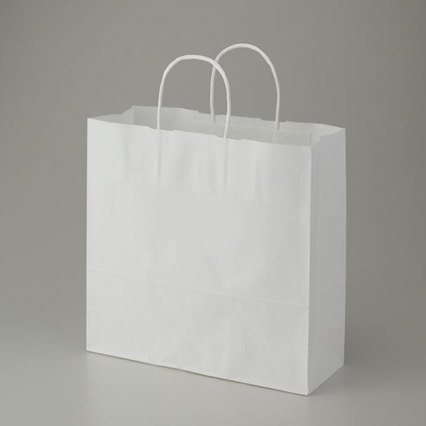 シモジマ 爆買い送料無料 HEIKO 25CB 紙袋 手提げ袋 3才 25チャームバッグ 50枚入 晒白無地 売れ筋 ペーパーバッグ