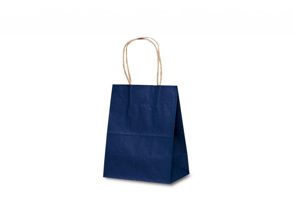 【手提袋】T―2 カラー(紺) 200枚