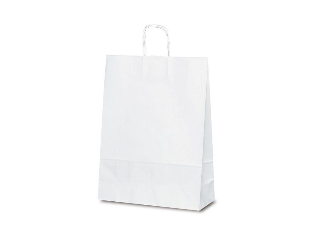 【手提袋】T―12 白無地 200枚