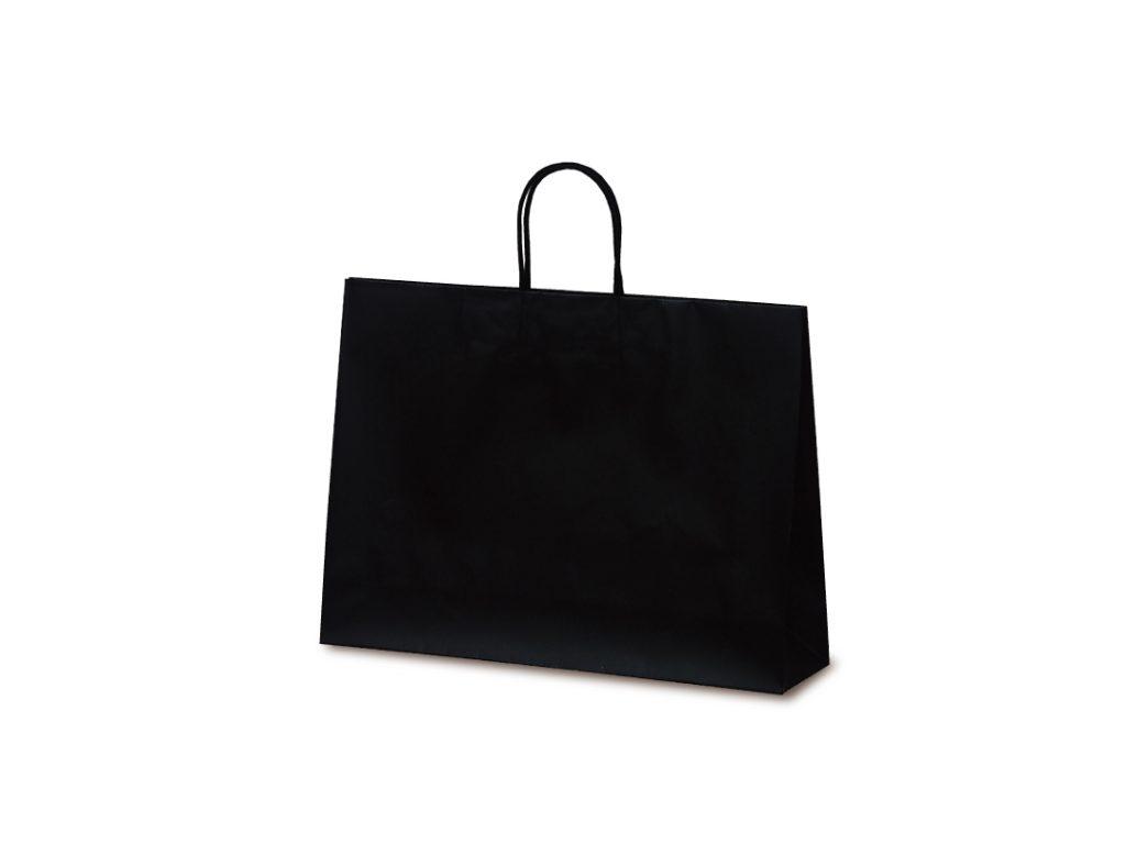 【手提袋】マットバッグ Y ブラック 50枚