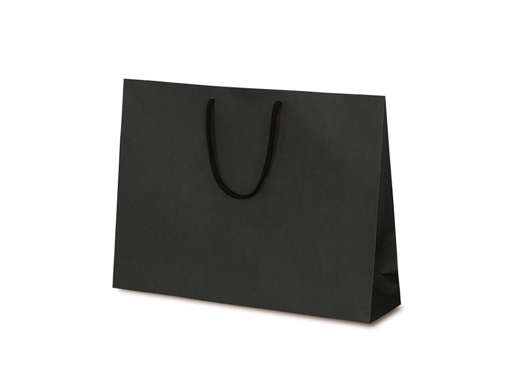 【手提袋】T―Y カラークラフト ブラック 100枚