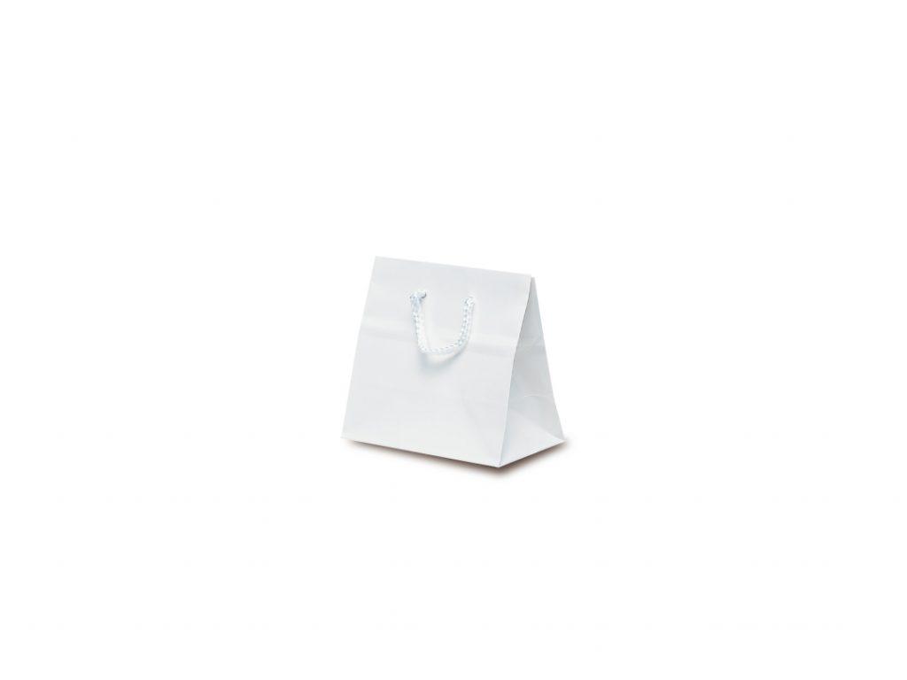 手提げ袋 手提紙袋 キュートバッグ 2020モデル 10枚 ホワイト 120×70×115mm 休み