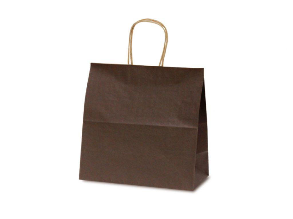 【手提袋】T―6W カラー(カカオ) 300枚