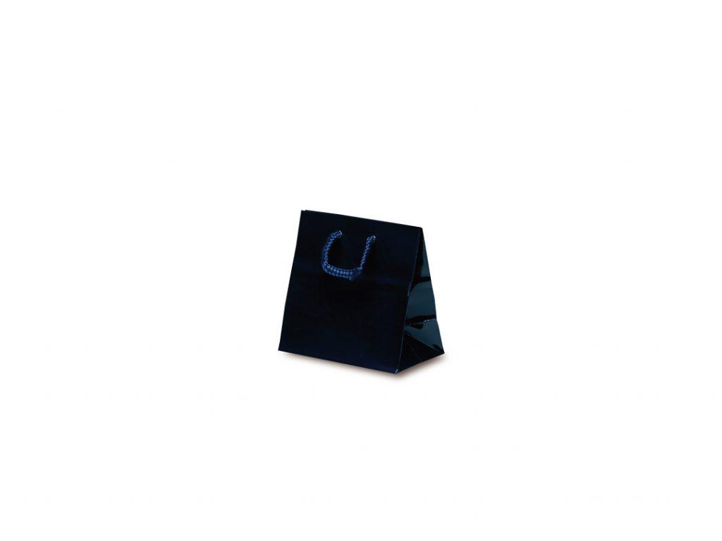 手提げ袋 手提紙袋 キュートバッグ 10枚 120×70×115mm クリアランスsale 期間限定 ネイビー 最新アイテム