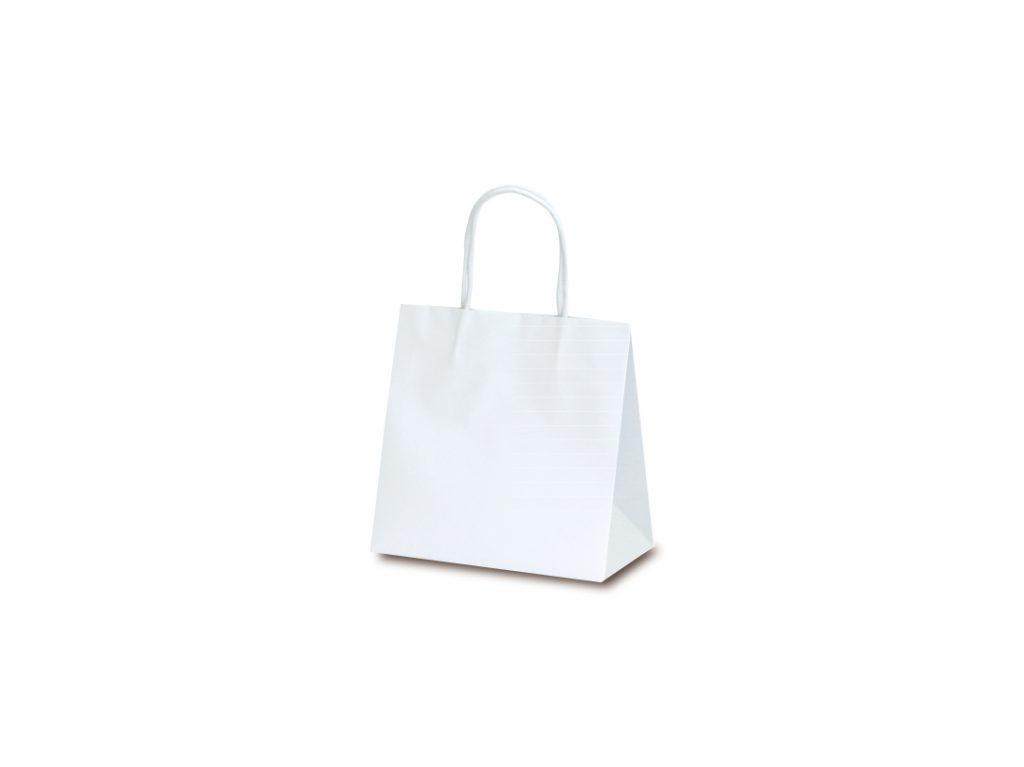 【手提袋】マットバッグ SS ホワイト 100枚