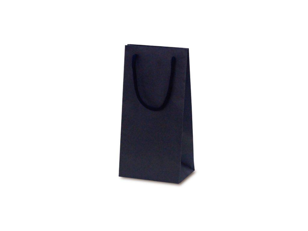【手提袋】T―WS2 カラークラフト ネイビー 100枚