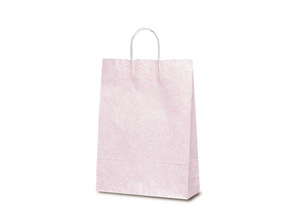 【手提袋】T―8 フロスティ(ピンク) 200枚