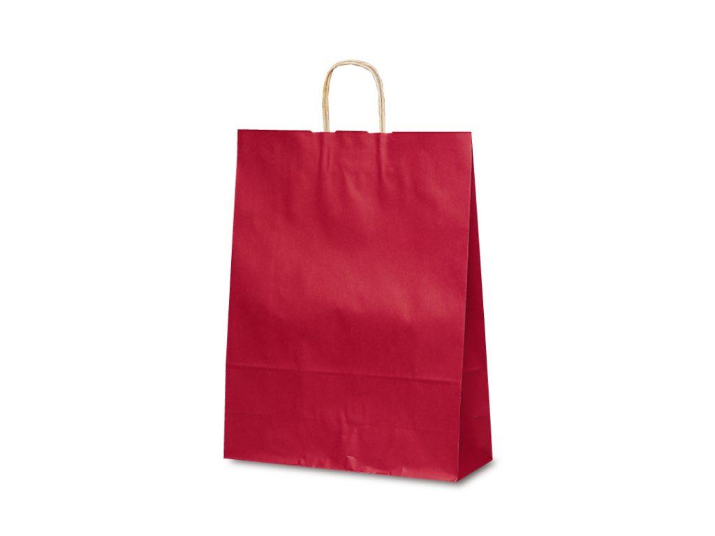 【手提袋】T―12 カラー(赤) 200枚