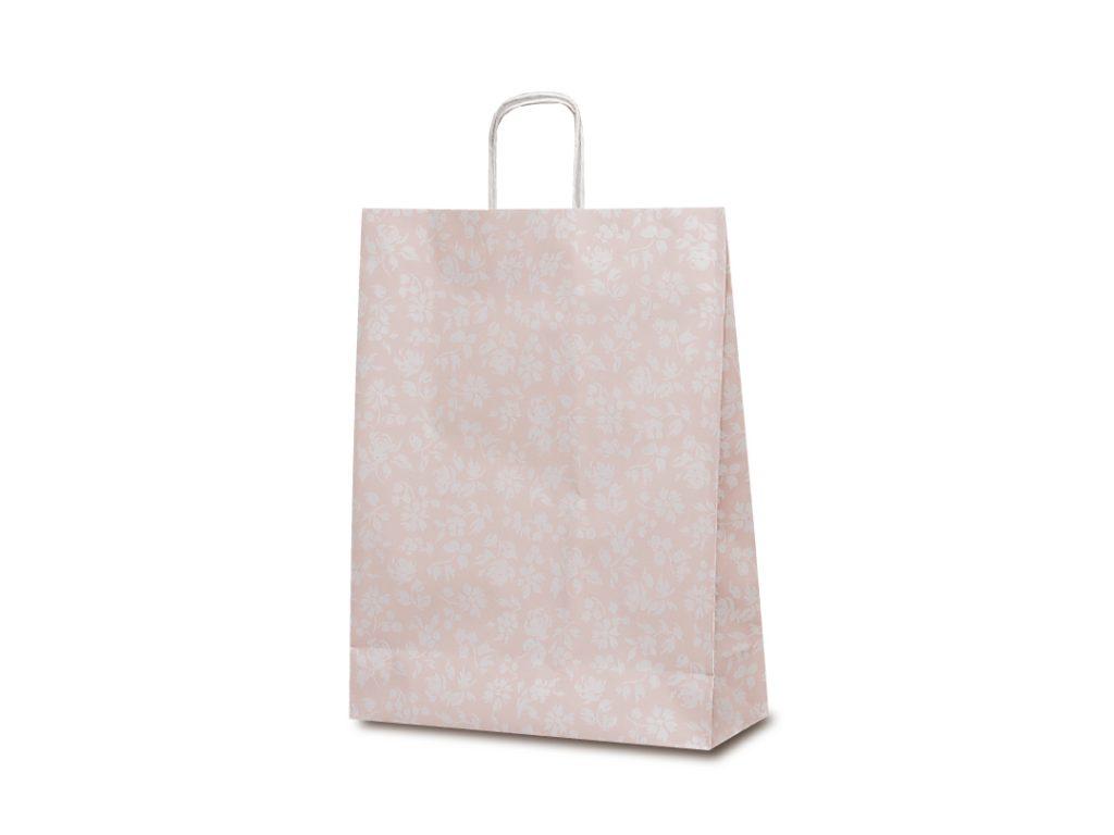 【手提袋】T―12 カレン(ピンク) 200枚