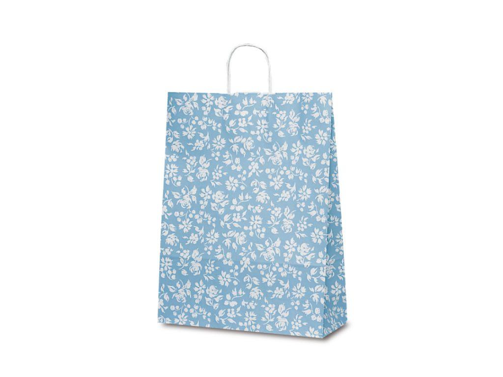 【手提袋】T―12 カレン(ブルー) 200枚