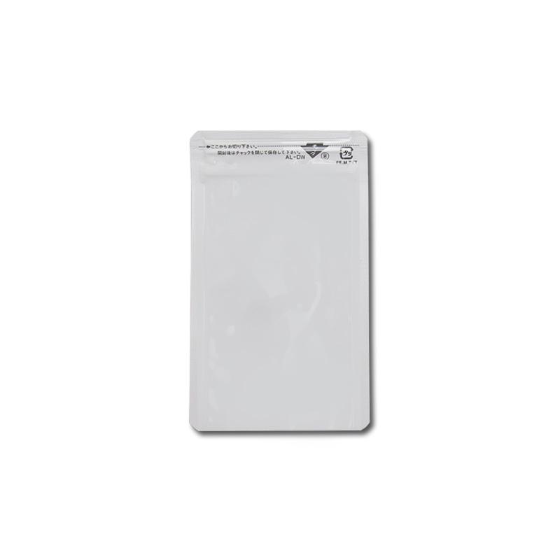 【メーカー直送】 セイニチ ラミジップ AL-DW 【白色印刷】平袋・底開き・ガスバリアタイプ 3,500枚入
