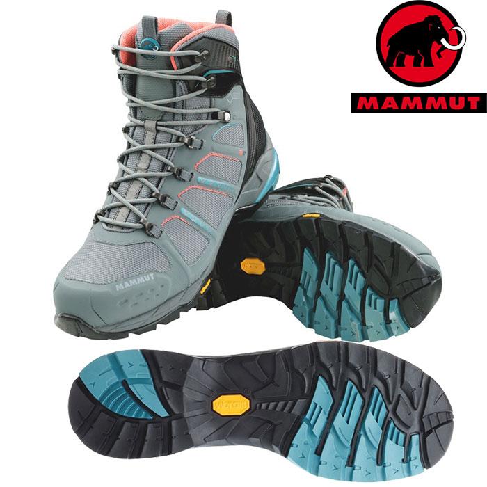 MAMMUT マムート T Aenergy High GTX Women 女性用 お買い得 登山靴 お買い得 登山靴 (grey-darkair):3020-05580