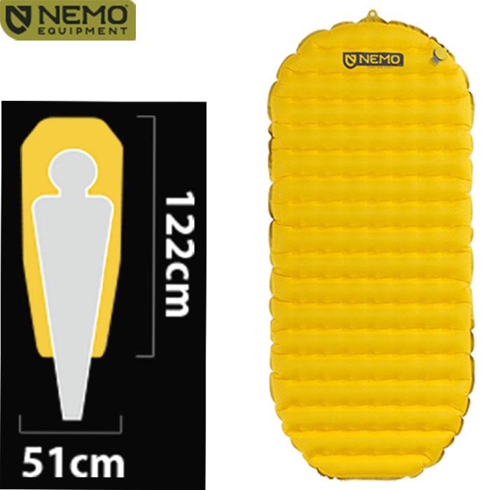 NEMO ニーモ テンサー ショート マミー 20SS シュラフ 寝袋 登山 マット キャンプ ツーリング NM-TS-SM [CAMP]