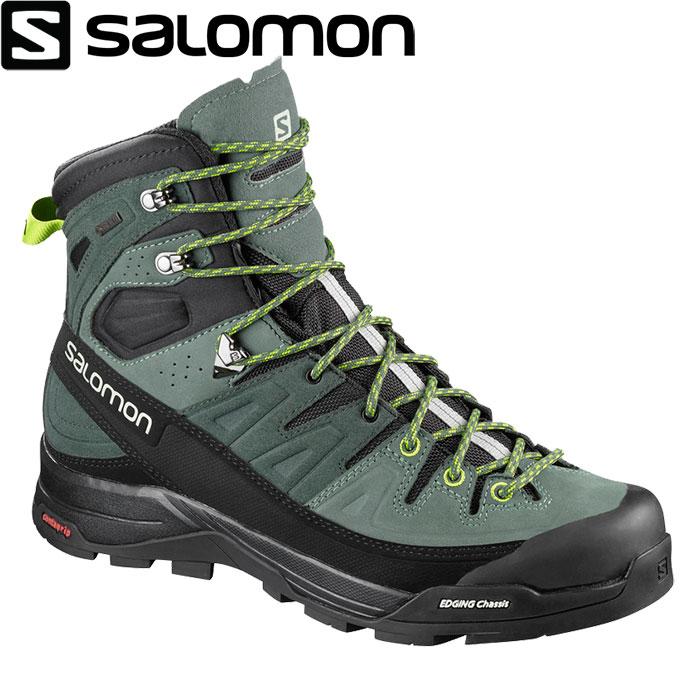 [送料無料] SALOMON サロモン X ALP HIGH LTR GTX〔 メンズ トレッキング 登山靴 GORE-TEX 2018SS 〕 (アーバンチック):L40164900 [クリアランスpt0]