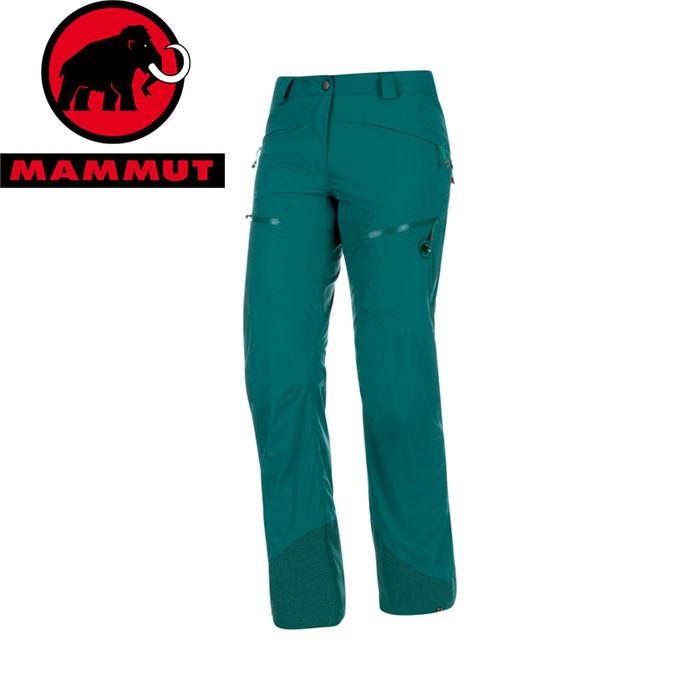 クーポン利用で10%OFF 8/9まで MAMMUT マムート Stoney HS Pants Women 女性用 お買い得 パンツ お買い得 パンツ (teal):1020-09142