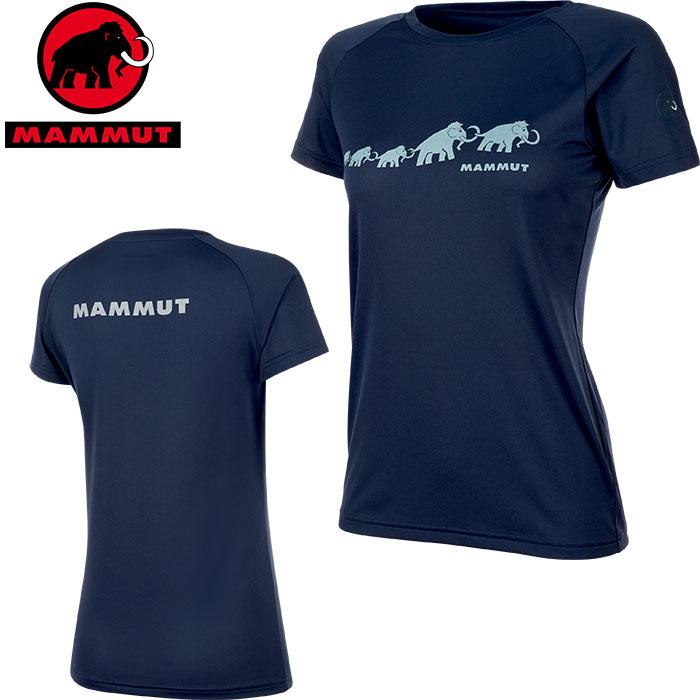 クーポン利用で10%OFF!12/19AMまで!MAMMUT マムート QD AEGILITY T-Shirt AF Women レディース Tシャツ 2019 SS (peacoat):1017-10072 [特価マムート] 「0604WSW」