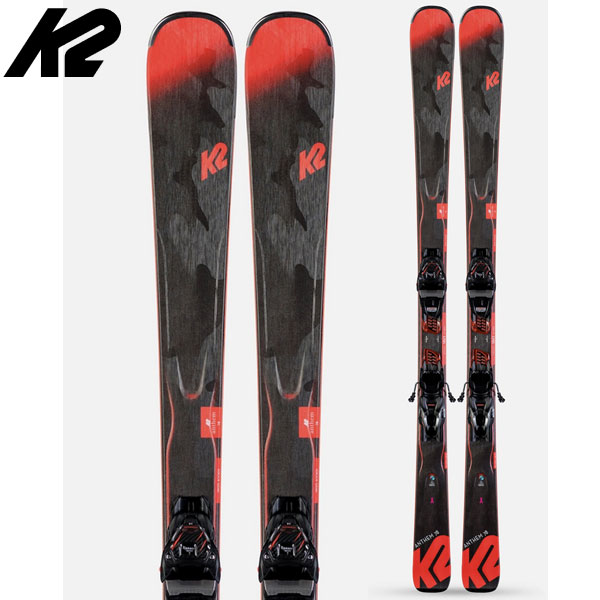 K2 ケーツー 19-20 スキー ANTHEM 78 アンセム 78 (金具付き) 2020 ski レディース スキー板 オールマウンテン