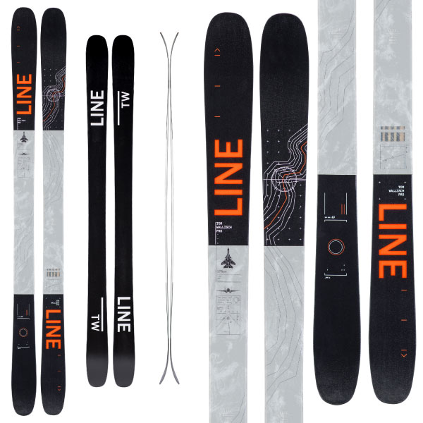 LINE ライン 19-20 スキー TOM WALLISCH PRO トムウォリッシュ プロ (板のみ) スキー板 2020 フリースタイル オールマウンテン: