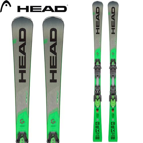 HEAD ヘッド 19-20 スキー 2020 SuperShape i MAGNUM スーパーシェイプ i マグナム (金具付き) スキー板 デモ 基礎 オールラウンド:313309