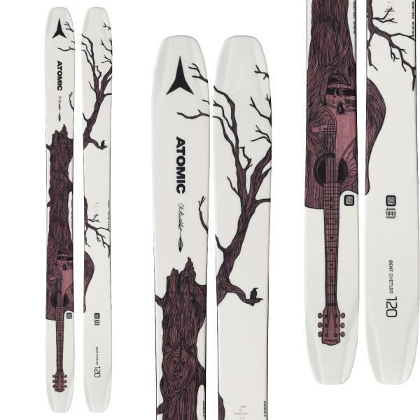 ATOMIC アトミック 19-20 スキー 2020 BENT CHETLER 120 ベントチェトラー 120 (板のみ) スキー板 パウダー ロッカー: