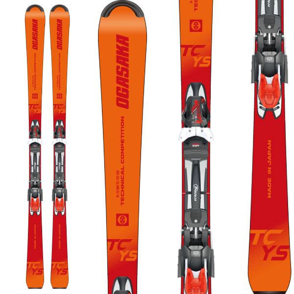 OGASAKA オガサカ 19-20 スキー 2020 TC-YS (金具付き) スキー板 デモ ショート ジュニア: