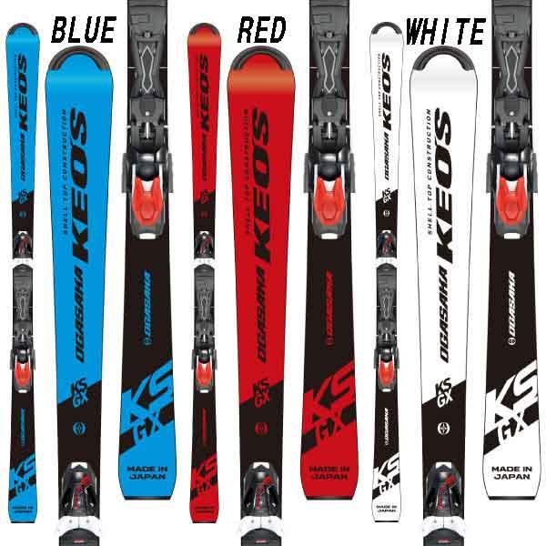 OGASAKA オガサカ 19-20 スキー 2020 KS-GX WT ケオッズ (金具付き) スキー板 オールラウンド デモ: