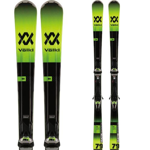 VOLKL フォルクル 19-20 スキー 2020 DECON 79 ディーコン 79 (金具付き) スキー板 オールマウンテン