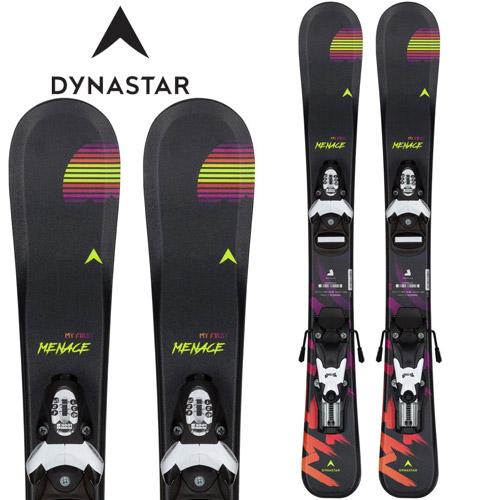 19/20 金具付き ジュニアスキー 子供 キッズ セット スーパーセール限定、エントリーでPt10倍!DYNASTAR ディナスター 19-20 スキー MY FIRST MENACE (金具付き) 2020 ski ジュニアスキー:DAIWE03