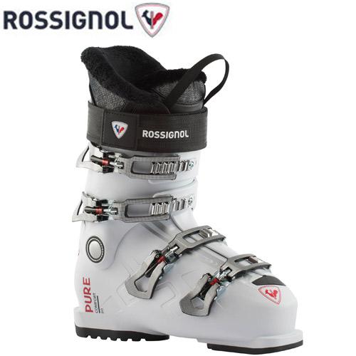 【NEWモデル早期予約】スキー ブーツ 靴 女性 入門 ロシニョール ROSSIGNOL 21-22 ピュアコンフォート60 PURE COMFORT 60 ホワイトグレイ レディース