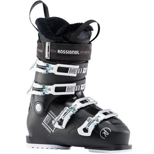 ROSSIGNOL ロシニョール 19-20 スキーブーツ 2020 PURE COMFORT 60 Black レディース エントリー 初中級 (Black)
