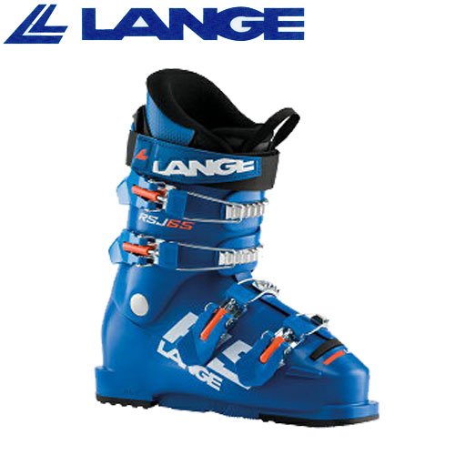 LANGE ラング 19-20 スキーブーツ 2020 RSJ 65 アールエスジェイ 65 ジュニア スキーブーツ レーシング (BLUE)