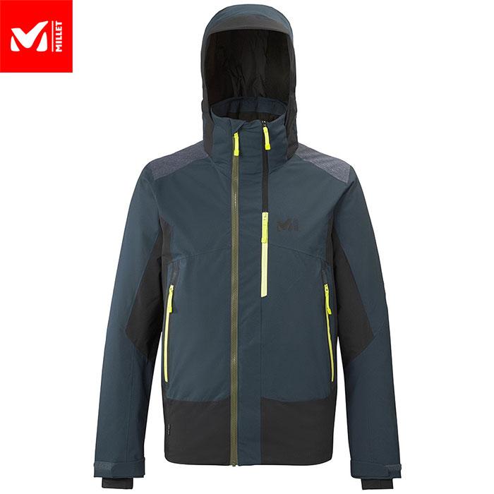 ポイント10倍!MILLET ミレー 7/24 STRETCH JKT M スキーウェア ジャケット メンズ (ORIONBLUEーNOIR):MIV8084 [206_SKIW]
