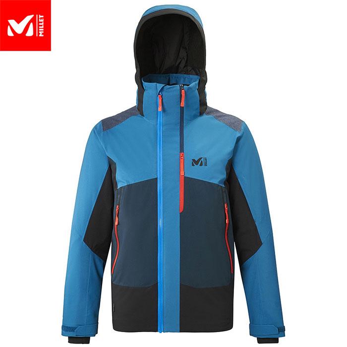 ポイント10倍!MILLET ミレー 7/24 STRETCH JKT M スキーウェア ジャケット メンズ (COSMICBLUEーNOIR):MIV8084 [206_SKIW]