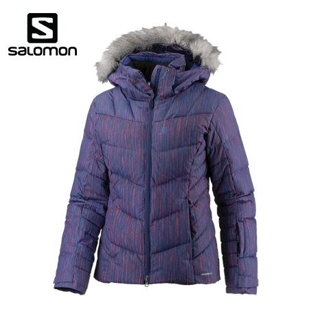 ポイント10倍!SALOMON サロモン ICETOWN JKT W 旧モデル JKTのみ Medieval Blue レディース スキーウェア 中綿 L39892000 [206_SKIW]