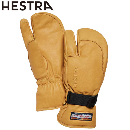 NEWモデル 早期 予約 HESTRA ヘストラ 20-21 3-Finger GTX Full Leather 701(Tan) 2021 フルレザー グローブ 3本指 スキー スノーボード 33882 [SKIAC]