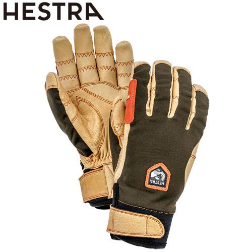 NEWモデル 早期 予約 HESTRA ヘストラ 20-21 Ergo Grip Active 861700(Dk.Forest/Nt.Brown) 2021 エルゴグリップ グローブ 5本指 スキー スノーボード 32950 [SKIAC]