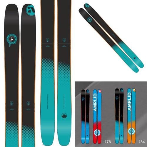 10%OFFクーポン発行中!11/22まで 15-16AMPLID スキー板 アンプリッド Ski 2016 THE MULTIPLAYER (板のみ) オールマウンテン [40_off]