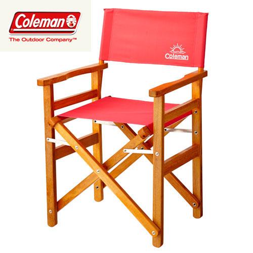 [期間限定 ポイント5倍] Coleman コールマン 2016SS ウッドチェアクラシック (キャンプ用品 チェア) (ストロベリ):2000027857