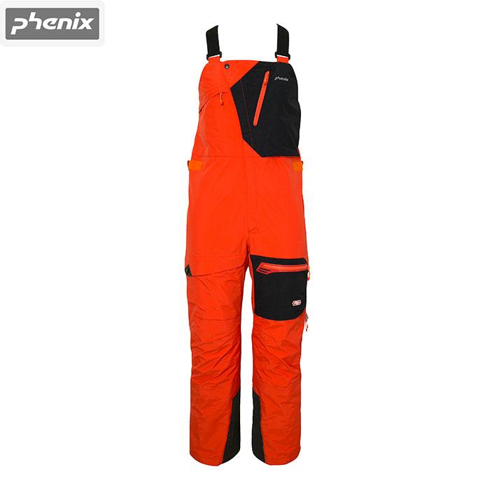 クーポン利用で10%OFF 8/9まで PHENIX フェニックス Snow Ridge 3L Bib Pants 〔2016/2017 Mens PNT 〕 (フレームオレンジ):PM652SB01[34SS-out] [特価フェニックス]