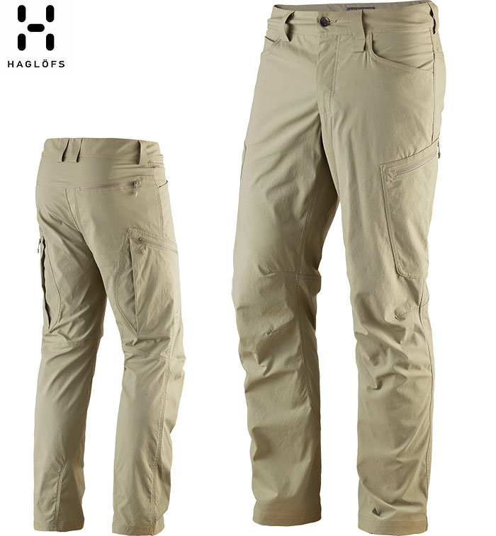 HAGLOFS ホグロフス Mid Klint Pant Men 〔メンズ パンツ 2018SS〕 (LICHEN):603886